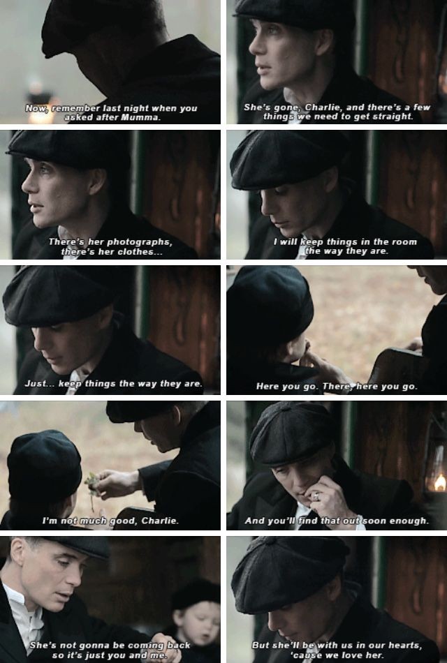 Peaky Blinders Thomas and Charlie Shelby
