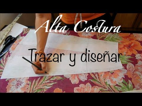 Alta Costura Clase 47B, Falda Vuelo Natural Trasero y final - YouTube