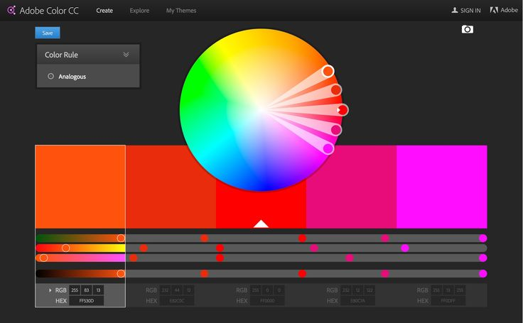https://color.adobe.com/create/color-wheel/       Adobe Color Scheme Generator