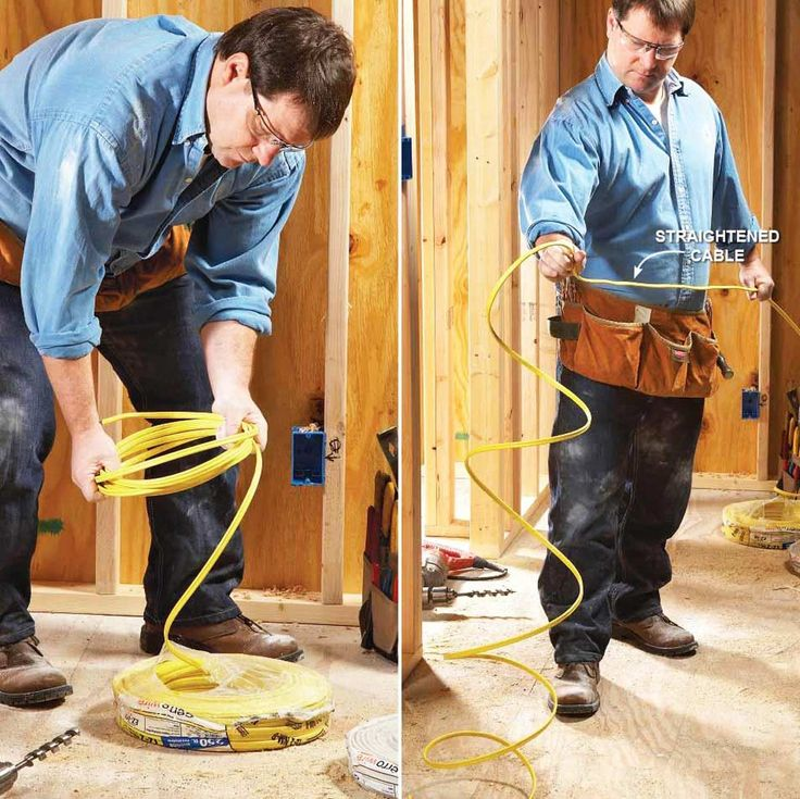 how to run electrical wire underground to a shed