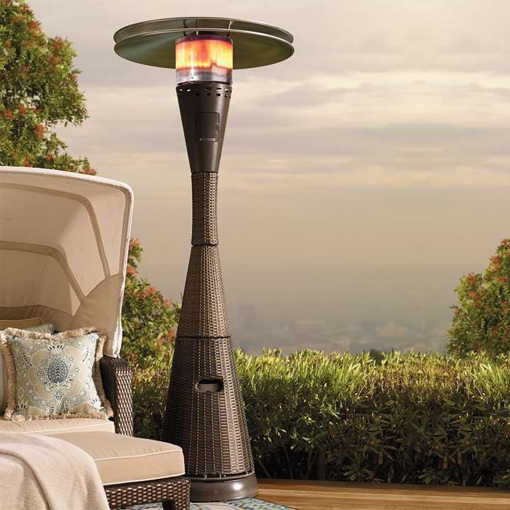 allweather woven patio heater