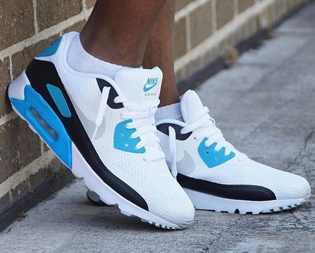 """Nike Air Max 90 Ultra Essential """"Laser Blue""""   @maxamillion83"""