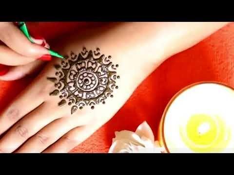 New Stylish Simple Easy Mehndi Design - YouTube || Multi Style & Beauty ...