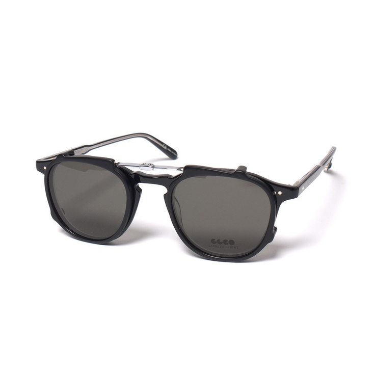 Hampton Optical + Clip Black