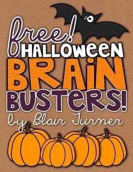 These 3 challenging Halloween-themed math puzzlers are sure to be a hit with your students! Students will need to think flexibly about numbers and their relationships in order to solve these logic problems. Answer keys are included as well! I hope you enjoy using these free puzzles in your classroom!