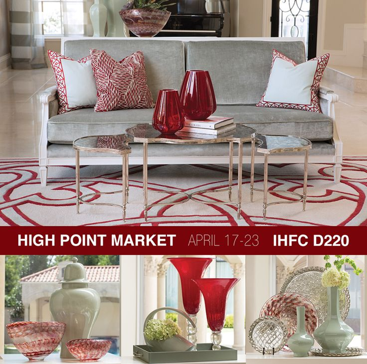 from global views love the pops of red new high point market april