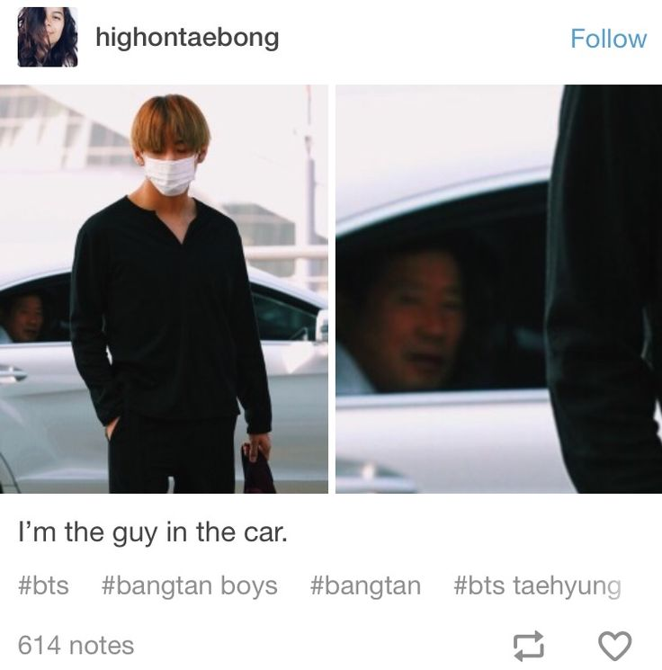 We're all the man in that car