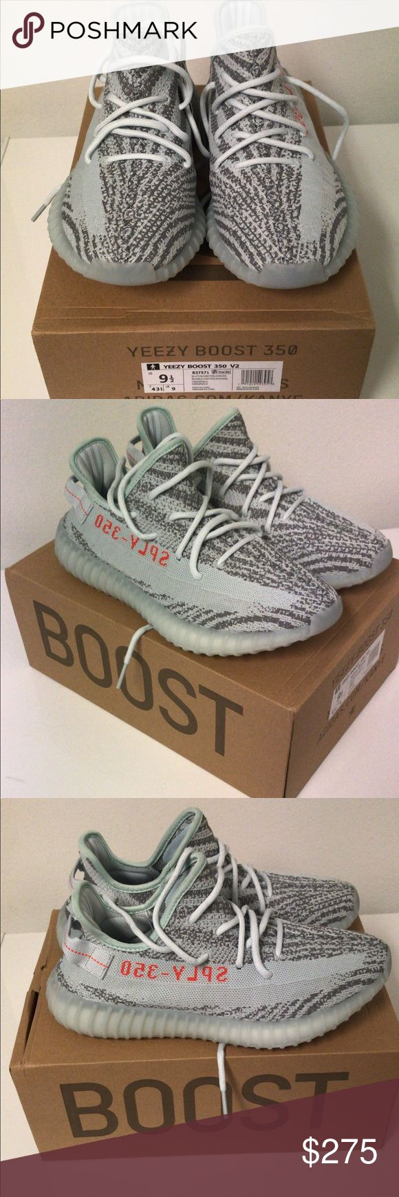 Brand new yeezy boost 350 v2 blue tint size 9.5 Adidas yeezy boost 350v2 blue tint size 9.5 adidas Shoes Sneakers