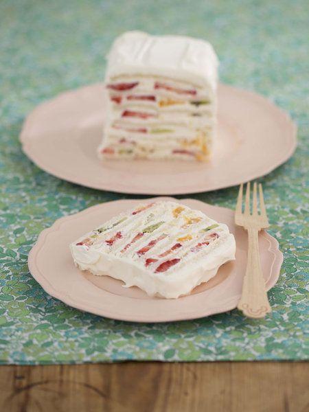 【ELLE a table】サンドイッチケーキレシピ|エル・オンライン