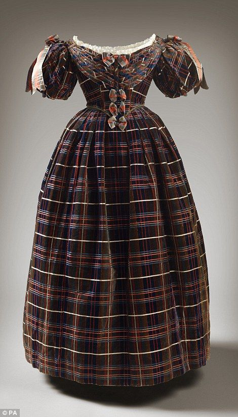 A dress worn by Queen Victoria in 1835-7, will be displayed as an early example of tartan in royal dress for the largest exhibition of the Queen's dress in Scotland