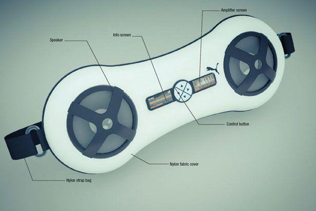 Nuovo stile di stereo portatile disegnato per Puma