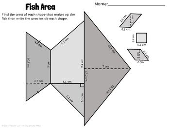 Area of Polygons--Rectangles, Parallelograms, Triangles, a