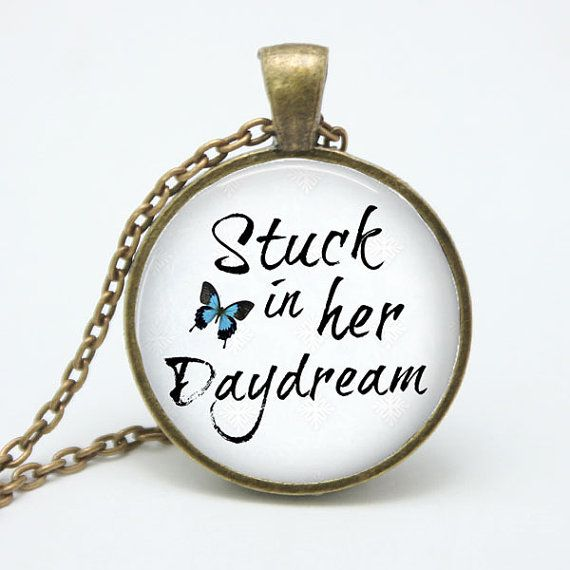 Stuck in Her Daydream  Music Lyric Necklace by ShakespearesSisters, $9.00 Ed Sheeran - The A Team - Lyric Necklace