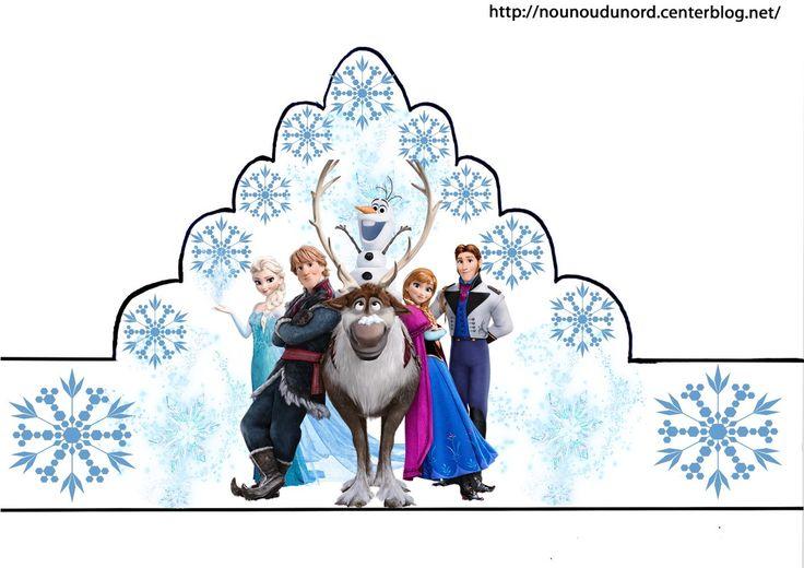 Couronnes reine des neiges en couleur,coloriage,gommettes http://nounoudunord.centerblog.net/4189-couronnes-reine-des-neiges-en-couleur-coloriage-gommettes