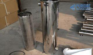 Bag Filter Housing adalah tabung untuk menempatkan bag filter yang terbuat dari material stainless steel