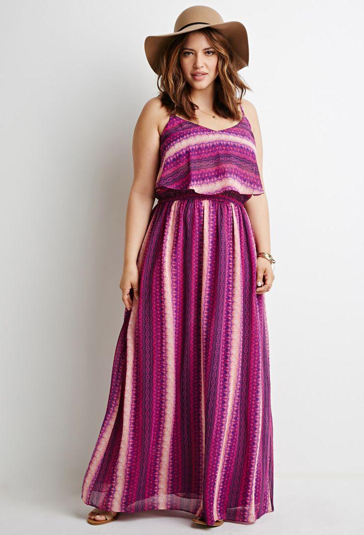 cute plus size maxi dress