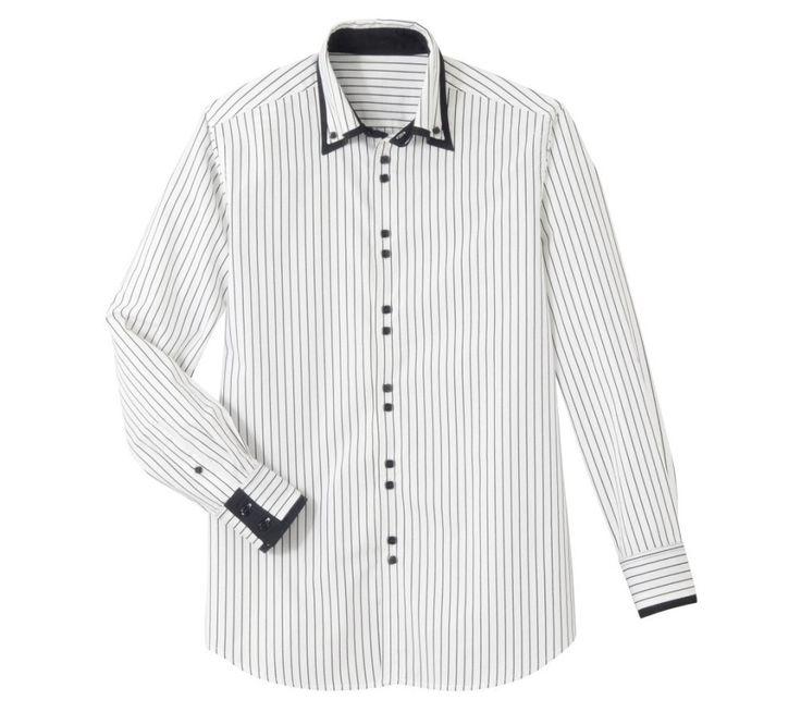 Pánska košeľa s dlhými rukávmi | blancheporte.sk #blancheporte #blancheporteSK #blancheporte_sk #vianoce #darcek #premuzov #moda
