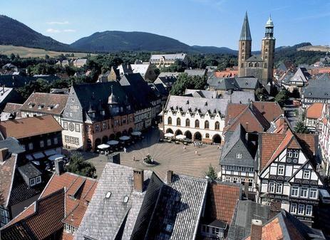 Marktplatz  Goslar, Germany