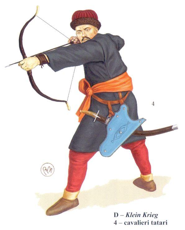 Tartar horseman, late 16th century
