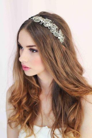 Amarantha Bridal Headpiece From MARRY ME CHARLIE www.marrymecharlie.com