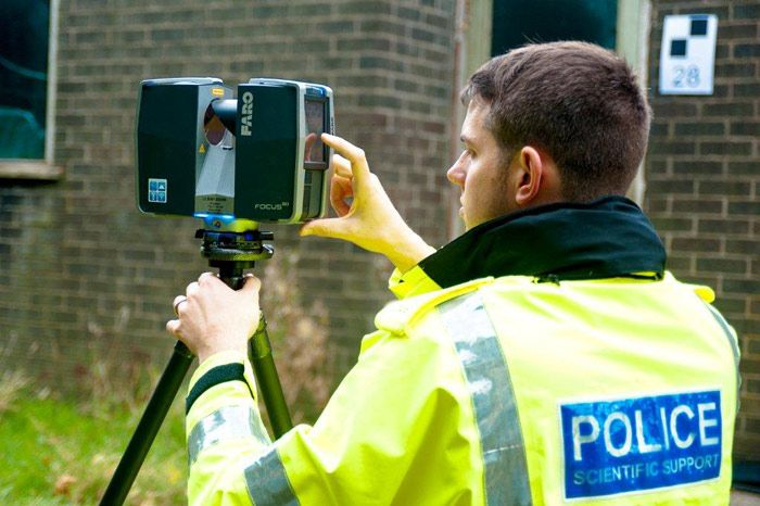 A Police Officer's Opinions on Documenting a Crime with FARO Scanners