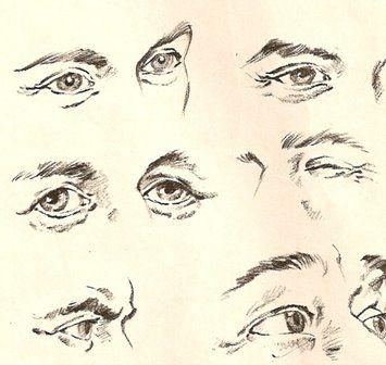 Aprenda Pintura e Desenho: Desenho de olhos