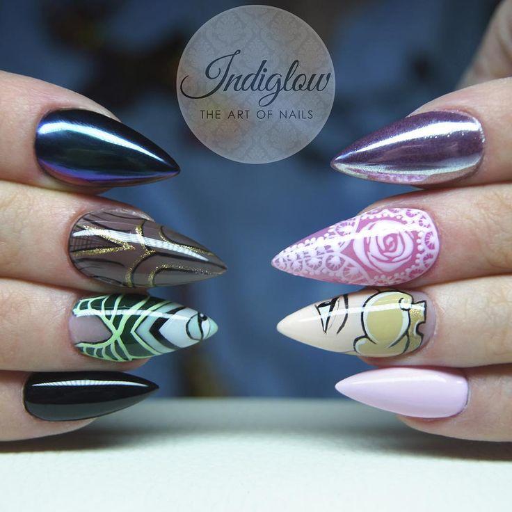 Sleeping Beauty Nails: Best 20+ Maleficent Nails Ideas On Pinterest