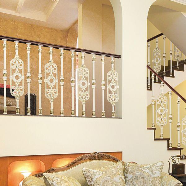 صور درابزين درج للفلل والدوبليكس بأحدث الاشكال ميكساتك Home Decor Brick Patios Home