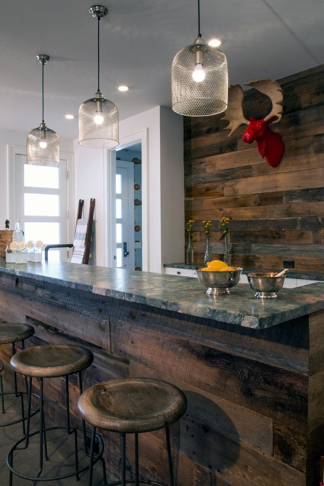 Basement Bar Ideas Rustic Home Bar Rustic With Rustic Wood