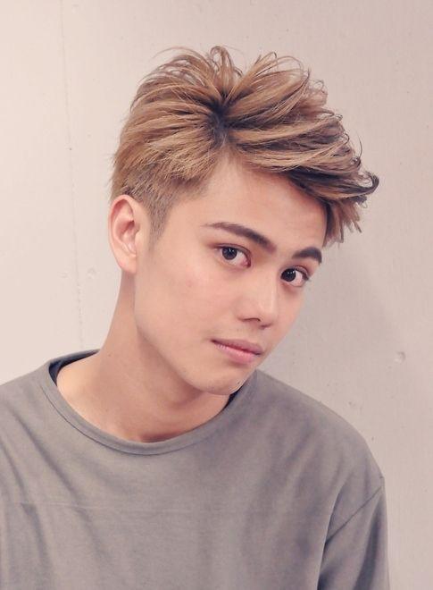 バングアップクールスタイル 【famille】 http://beautynavi.woman.excite.co.jp/salon/26592?pint ≪ #menshair #menshairstyle・メンズ・ヘアスタイル・髪形・髪型≫
