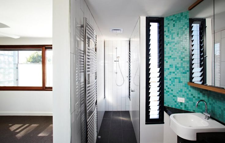 Bathroom wall space can be tight, making Altair Louvres ideal for narrow windows with maximum ventilation.