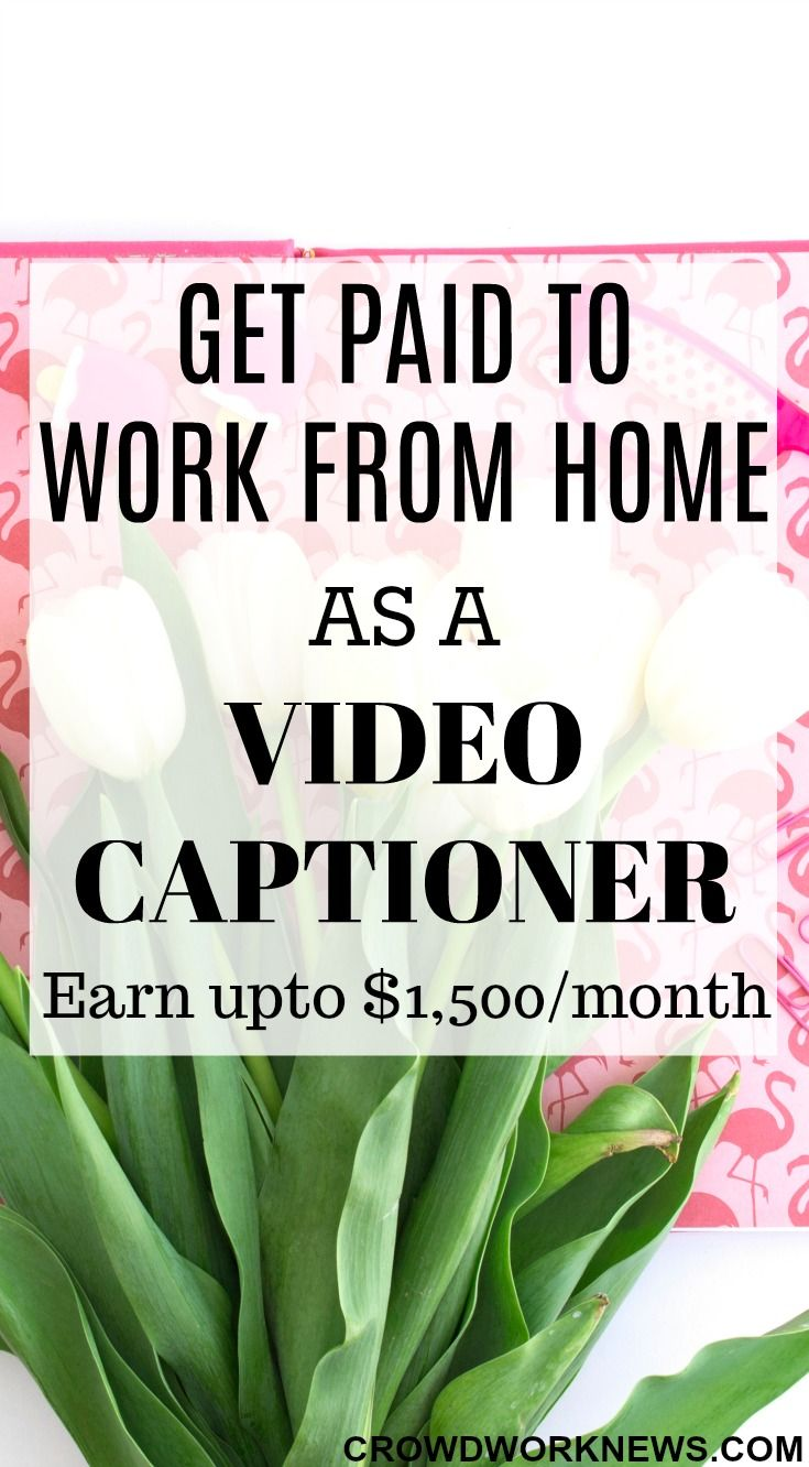 If you want a fun way to work from home, then try video captioning. It is the most awesome way to make up to $1,500 per month captioning videos. Click through to find out more about this fun job.