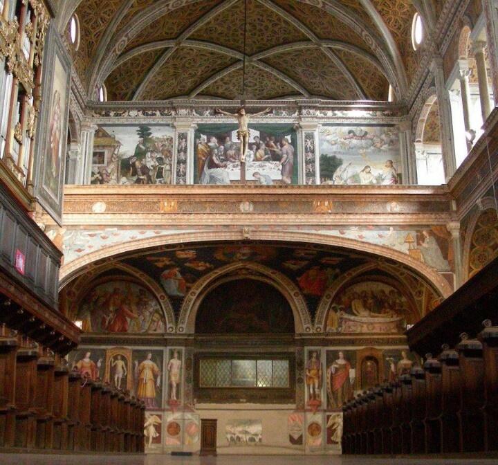San Maurizio - il coro delle monache