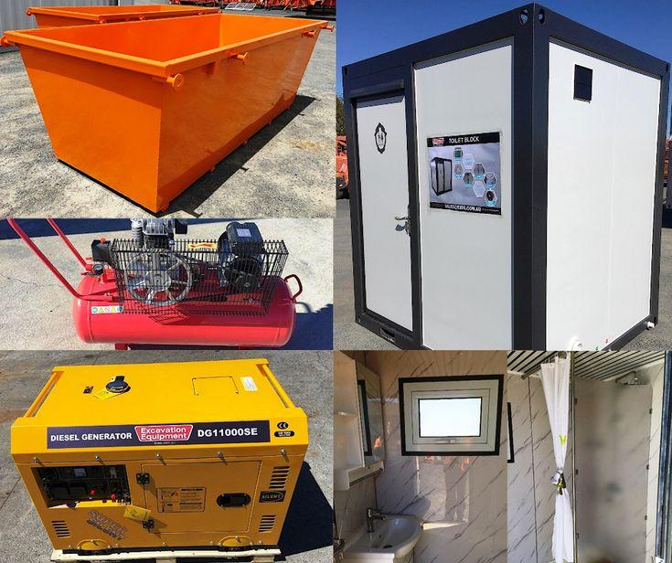 BRAND NEW Ablution Blocks, Skips, Generators and more! All brand new and all going under the hammer WEDNESDAY 10:00 am https://goo.gl/KjLhe3?utm_content=buffer44d47&utm_medium=social&utm_source=pinterest.com&utm_campaign=buffer  📍 Toowoomba, QLD