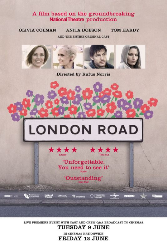 Poster for 2015 musical drama London Road
