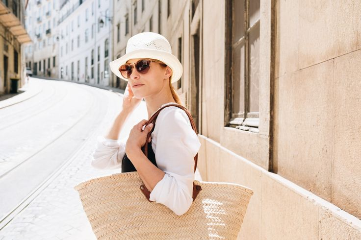 Summer essential pieces, how to style a slip dress, basket bag