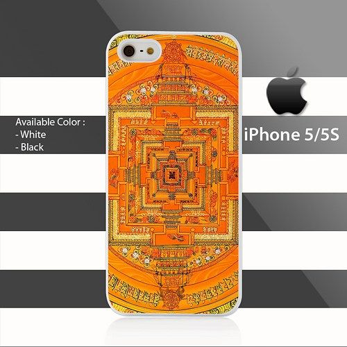 Mandala Nepal iPhone 5 5s Case Cover