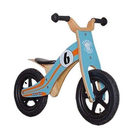 Bici aprendizaje Rebel Kidz Wood Air madera por 59,90 € Esta #bicicleta es ideal para desarrollar las habilidades #motoras de los #niños y #niñas y el sentido del equilibrio. Dominar cómo montar una bicicleta #Rebel #Kidz le dará a su hijo un gran impulso en la #confianza. #amazon #Bicicleta #juguetes #ofertas