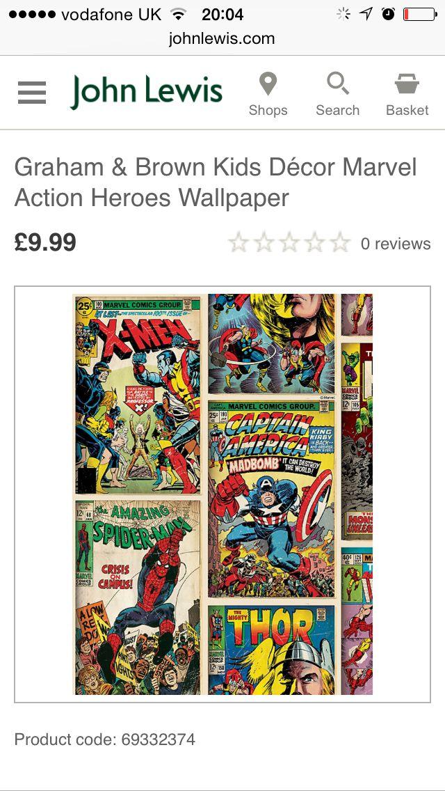 Marvel heroes wall paper