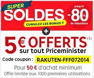 Priceminister : 3ème démarque des soldes jusqu'à 80% + jusqu'à 20x de Super Points + code promo limité aux 1000 premières utilisations