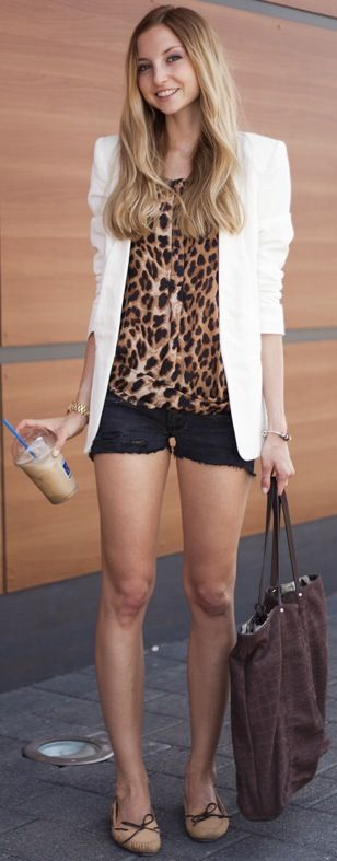 Like white over the print. Won't be caught dead in shorts like this so mine will be worn with pants!