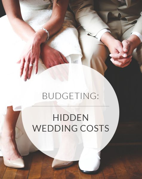 It's hard to stick to a budget--especially when planning your big day! Learn about all 44 hidden wedding costs so you don't go into debt!
