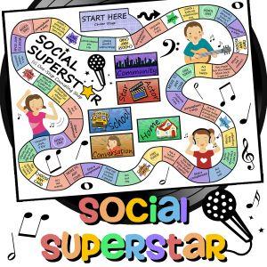 Social Superstar game
