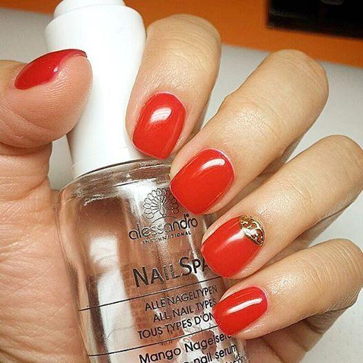 Nail Spa: Mango nail serum  http://bit.ly/1oZC9Aq  #alessandroGR #alessandrointernational #nailspa #mango #nail #serum #notd