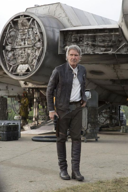 My favorite Star Wars character; a pirate meets a cowboy disguising his heart. Han Solo was a real inspiration to me growing up, as was Harrison Ford.