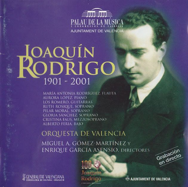 "...Rodrig did not lack detractors. ""He knew the tendencies of the avant-garde, but he followed his own path, knowing that he was criticized and sometimes even vituperated in Spain and abroad by high-flying musicologists who maintained that music which seems easy to the ear is 'easy music'"", Cecilia Rodrigo said."