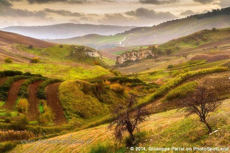 Sicilian landscapes.