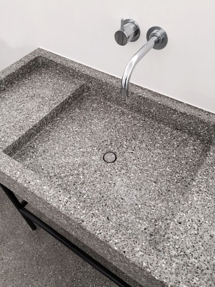 Wash Basin in #Terrazzo by Marc Merkx Interior Designer | Love this so much!!