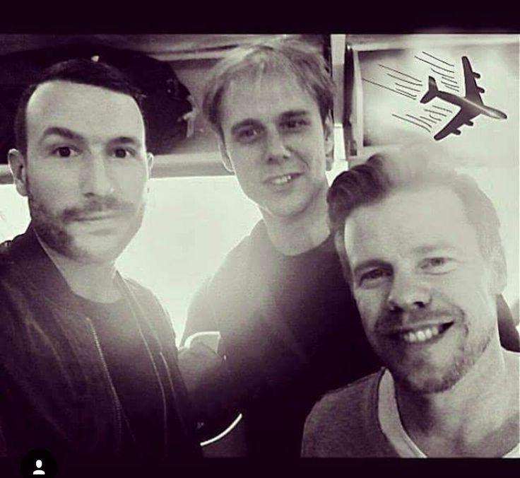 Don Diablo, Armin van Buuren and Ferry Corsten ❤❤❤