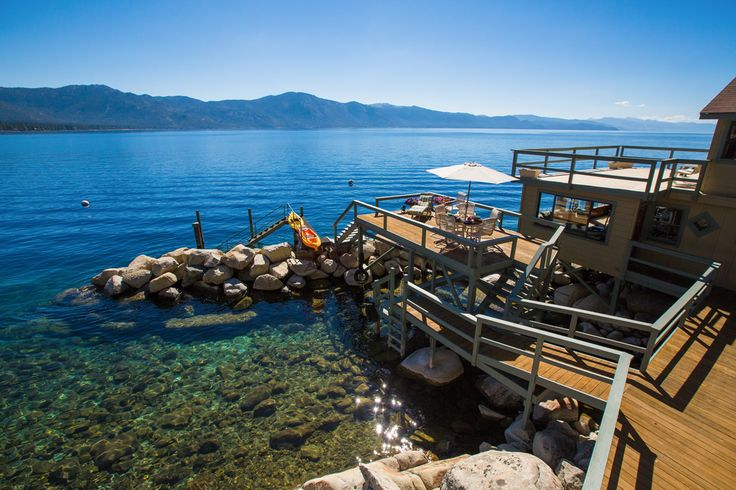 Lake tahoe lakefront home living it up at lake tahoe for Luxury lake tahoe homes for sale